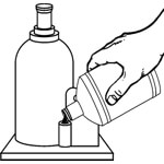 Гидравлическое масло B Force™ Hydraulic Jack Oil