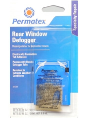 Rear Window Defogger Electrically Conductive Tab Adhesive