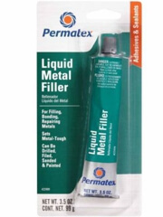 Permatex, Liquid Metal Filler, 25909n