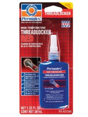 Permatex High Temperature Threadlocker RED-27240