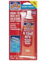 Permatex High-Temp Red RTV Silicone Gasket
