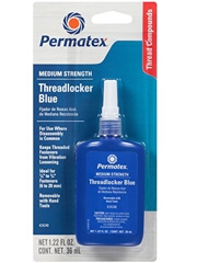 Permatex Medium Strength Threadlocker BLUE-24240