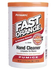 Permatex 35406 Fast Orange Pumice Cream Hand Cleaner