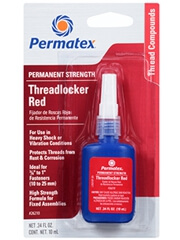 Permatex 27110 High Strength Threadlocker Red