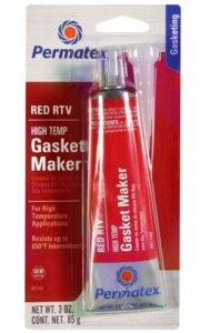 Красный герметик для высокой температуры
