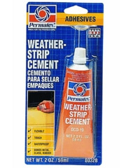 Permatex Weatherstrip Cement