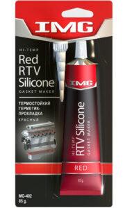 Красный высокотемпературный герметик